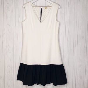 Leifsdottir Colorblock Crepe Dress US 14